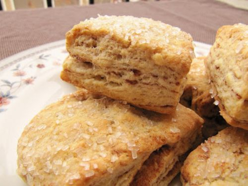 Flaky Cinnamon Layered Biscuits Recipe