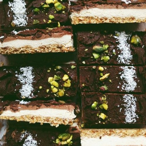 Raw Vegan Choc Citrus Slices