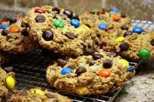 Monster M&M Cookies
