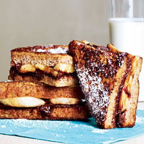 Banana Chocolate French Toast