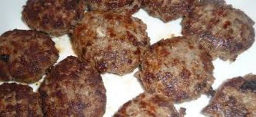 Homemade Meat Patties