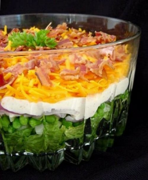 Nine-Layer Salad