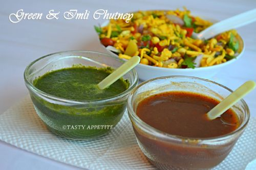 red chaat chutney(sweet)