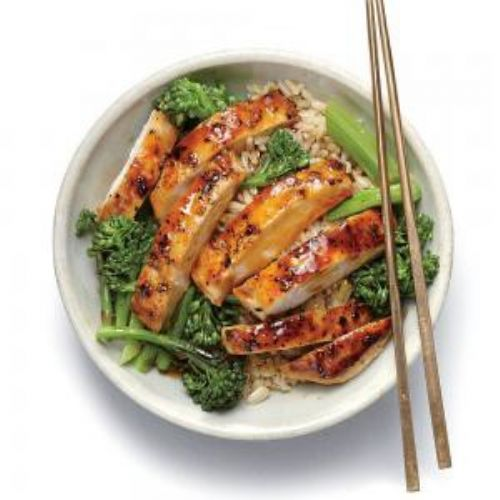 Lemon Chicken Teriyaki Rice Bowl