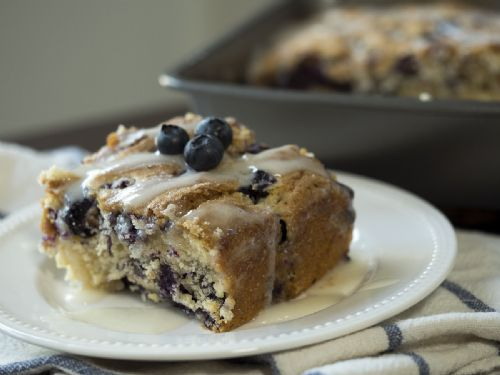 Blueberry Butter milk Breakfast Cake