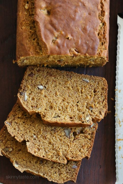 Pumpkin Banana Pecan Bread