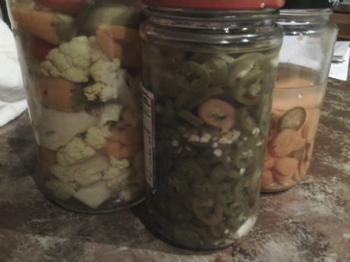 Pickled Peppers & Veggies