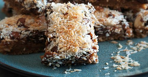 Pumpkin Gingersnap Magic Bars