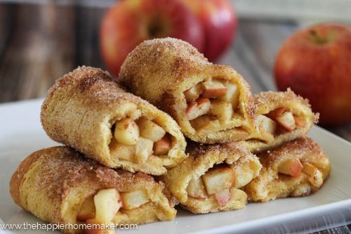 Baked Apple Pie Rollups