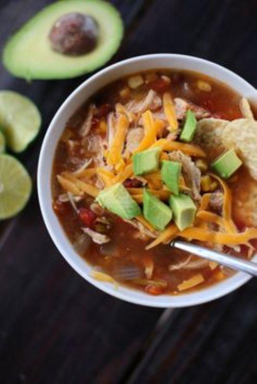 Easy Fall Fajita Soup Recipe