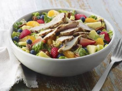 PANERA Strawberry Poppyseed Turkey Salad