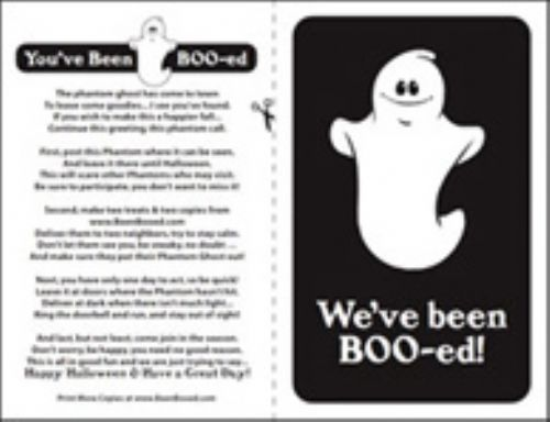 You've Been Boo-ed