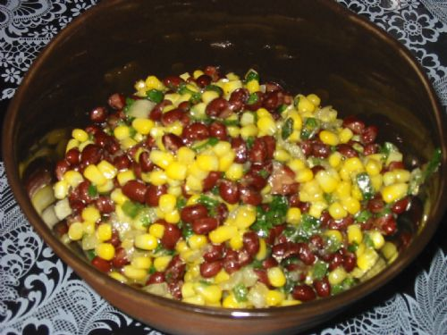 Spicy Black Bean and Corn Salsa