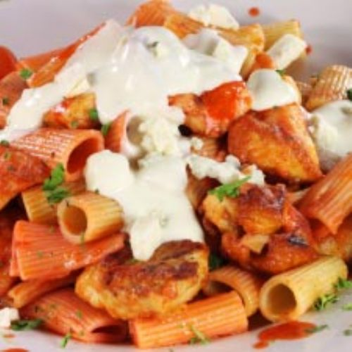 Italian Veggie Rigatoni with Chicken