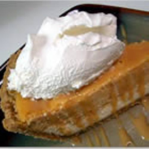 Double Layer Pumpkin Cheese Cake