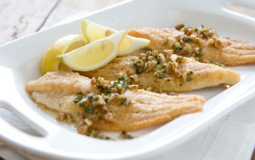 Pan-fried Catfish with Brown Butter and Pecans Recipe