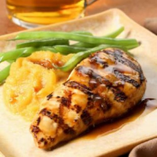 Maple-Glazed Chicken Breasts