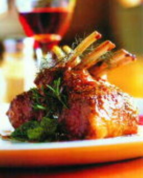 Rack of Lamb w/Rosemary, Honey, & Lemongrass