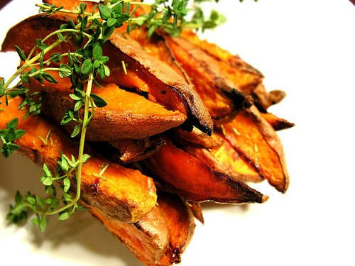 Sweet N' Spicy Yam Fries