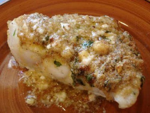 Baked Red Snapper With Garlic