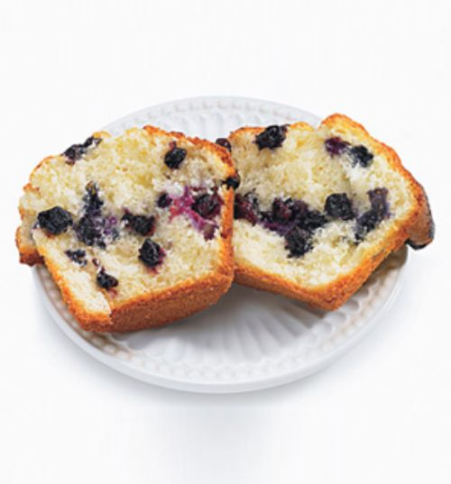 Life Blueberry Banana Muffins