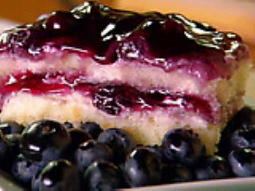 Lime Blueberry Tiramisu