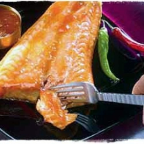 Apricot-Ginger Salmon