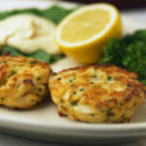 Carl Taylor's Crab Cakes w/Randy Sauce