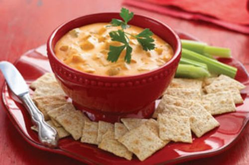 Easy Cheesy Buffalo Chicken Dip Recipe