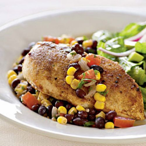 Chicken with Southwestern Salsa