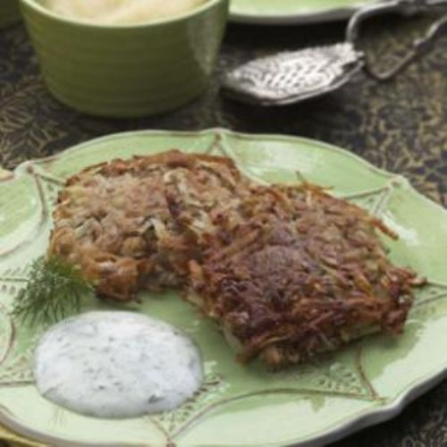 Crispy Potato Latkes