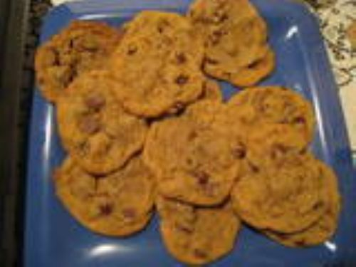 Chocolate Chip Cookies with Heath Bar Bits