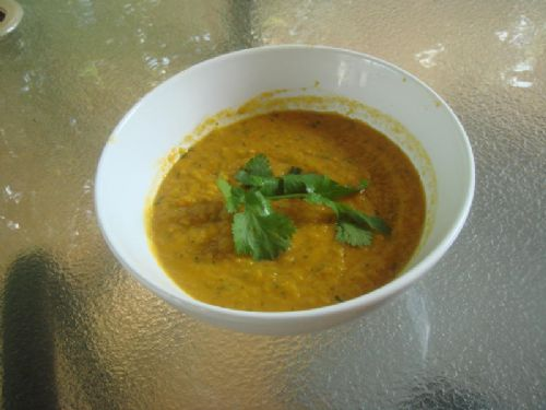 Carrot, Lentil, and Coriander Soup