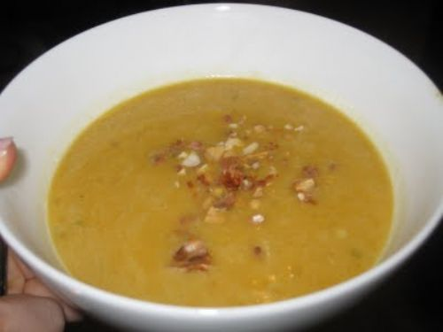 Spicy Senegalese Sweet Potato & Peanut Soup
