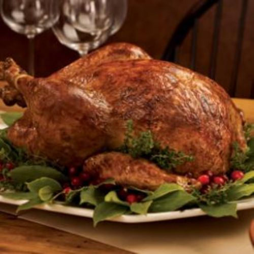 Brine-Cured Roast Turkey Recipe