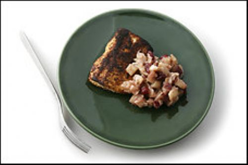 Mahi Mahi with Apple-Pear Chutney