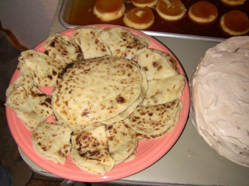 Norwegian Potato Flat Bread (Lefse)