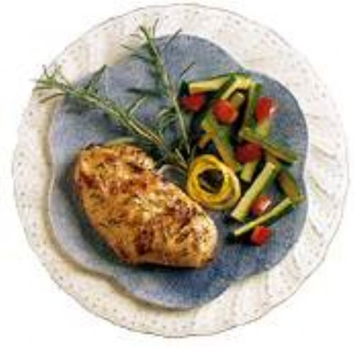 Broiled Lemon-Honey Chicken Breasts