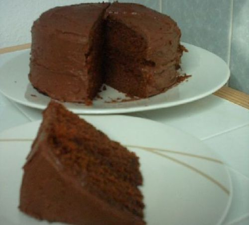 Naughty Choco Fudge Cake