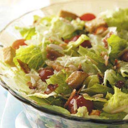 Tossed Salad with Lemon Vinaigrette