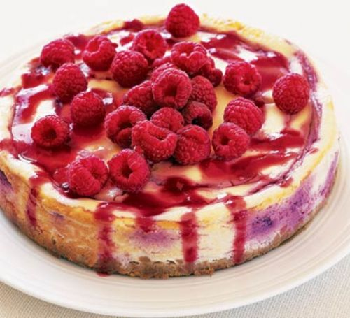 Baked Rasberry Cheescake