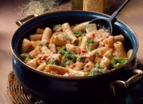 Creamy Chicken and Rigatoni