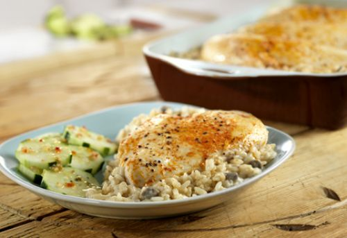 One Dish Chicken & Rice