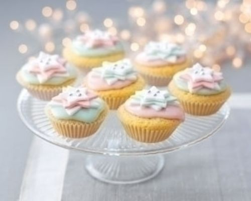 Twinkling Star Cupcakes