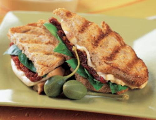 Grilled Cheese with Fig and Basil