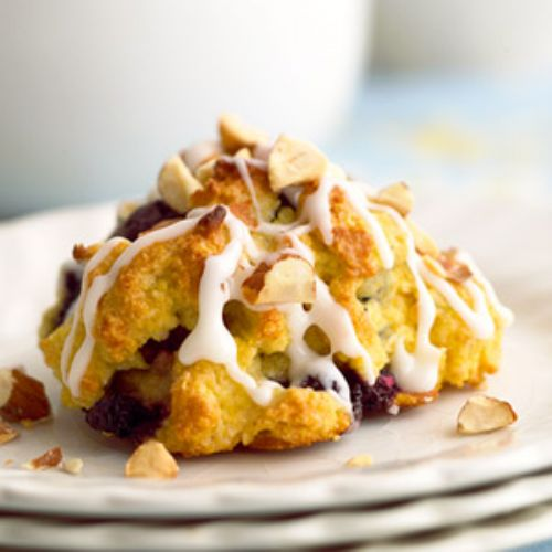 Cornmeal-Blueberry Scones