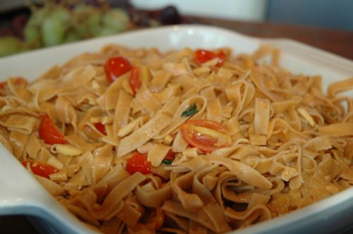 Spicey Red Pepper Fettucine
