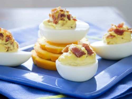 Morning Sunshine Deviled Eggs