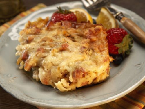 Hash Brown Casserole with Pork