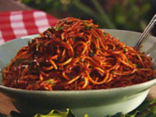 Neely S Bbq Spaghetti Recipe